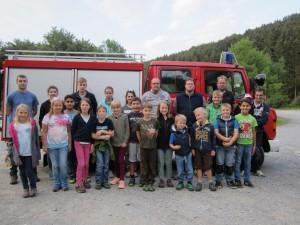 Ferienprogramm Feuerwehr 2016